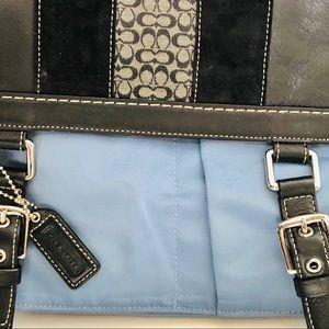 Coach Bags - COACH-Sachet leather handbag. (Dr. Bag type bag)